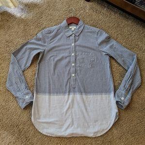 J. Crew bottom down shirt